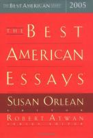 The Best American Essays, 2005