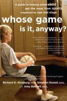 Whose Game Is It, Anyway?
