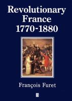 Revolutionary France, 1770-1880