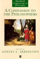 A Companion to the Philosophers