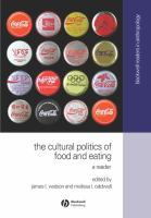 The Cultural Politics of Food and Eating