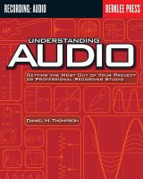 Understanding Audio