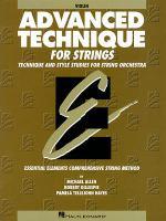 Advanced Technique for Strings, Violin