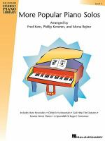 More Popular Piano Solos