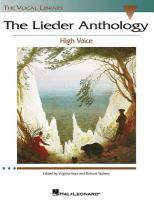 The Lieder anthology