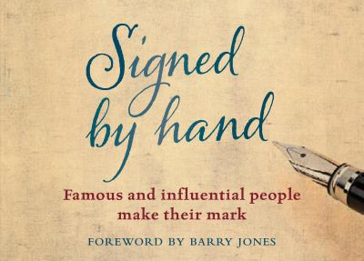 Cover image for Signed by Hand