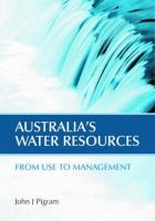 Australia's Water Resources