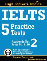 IELTS 5 Practice Tests, Academic Set 2