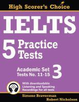 IELTS 5 Practice Tests, Academic Set 3
