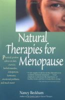 Natural Therapies for Menopause
