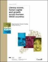 Literacy Scores, Human Capital and Growth Across Fourteen OECD Countries