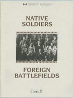 Native Soldiers, Foreign Battlefields