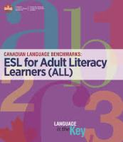 Canadian Language Benchmarks 2000