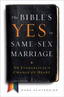 The Bible's Yes to Same-sex Marriage