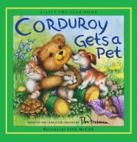 Corduroy Gets A Pet