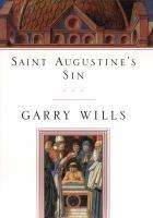 Saint Augustine's Sin