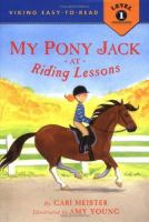 My Pony Jack at Riding Lessons