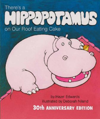 cover for hippopotamus on our roof eating cake