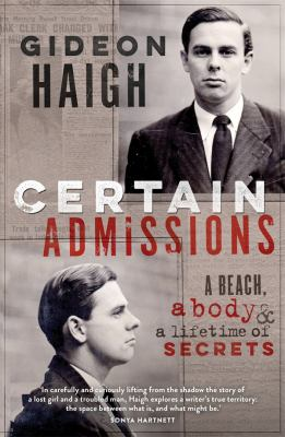 Cover image for Certain Admissions
