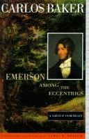 Emerson Among the Eccentrics