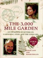 The 3000 Mile Garden