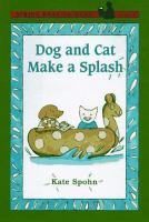 Dog and Cat Make A Splash