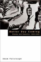 Better Day Coming