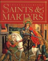 The Treasury Of Saints And Martyrs