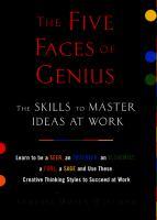 The Five Faces Of Genius