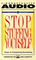 Stop Stuffing Yourself