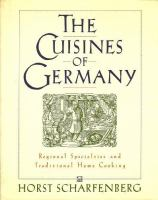 The Cuisines of Germany