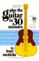 Play the guitar in 30 minutes