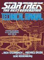 Star Trek, the Next Generation Technical Manual