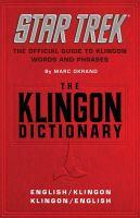 The Klingon Dictionary. English-Klingon, Klingon-English