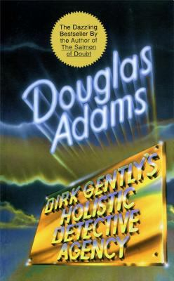 Dirk Gently's Holistic Detective Agency book jacket