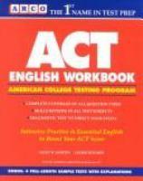 ACT English Workbook