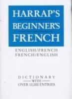Harrap's Beginner's French