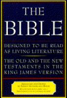 The Bible, Designed To Be Read As Living Literature