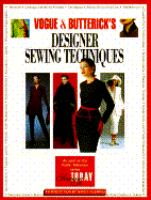 Vogue & Butterick's Designer Sewing Techniques