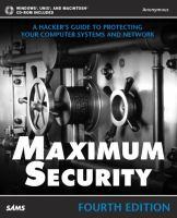 Maximum Security, Fourth Edition