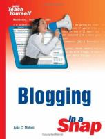 Blogging in A Snap