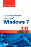 Sams Teach Yourself Windows 7 in 10 Minutes