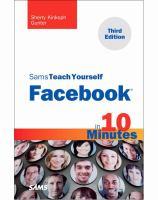 Facebook in 10 Minutes