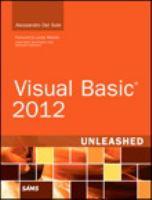 Visual Basic 2012 Unleashed