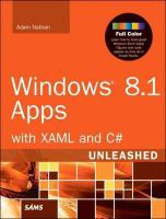 Windows 8.1 Apps With XAML and C♯ Unleashed