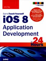 Sams Teach Yourself IOS Application Development in 24 Hours