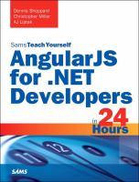 AngularJS For.NET Developers in 24 Hours