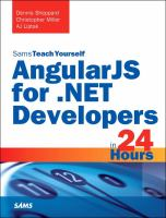 Sams Teach Yourself AngularJS for .NET Developers in 24 Hours