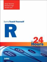 Sam's Teach Yourself R in 24 Hours