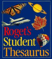 Roget's Student Thesaurus